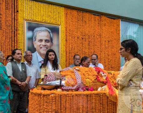 Dr Devkota's last rites performed