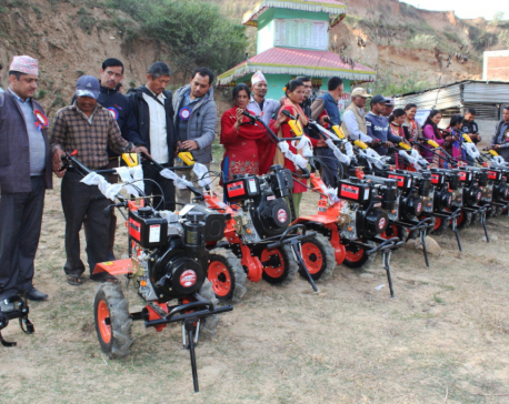 Handy tractors give new life to Gajuri farmers