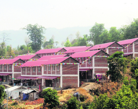 One man builds houses for 55 quake families