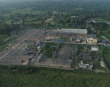 Capacity of Dhalkebar substation increased, 315 MVA capacity power transformer charged