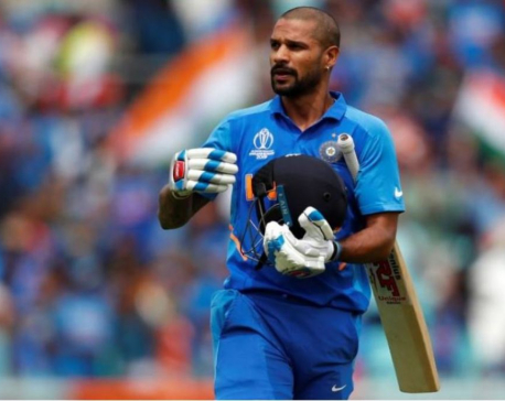 Injured Dhawan ruled out of India's ODI, T20 squad for NZ tour