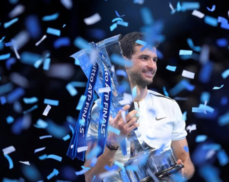 Dimitrov comes of age to win ATP title