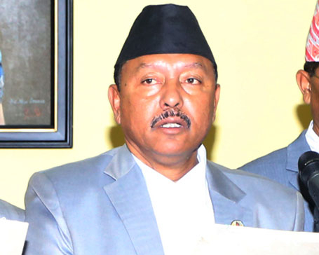 Irrigation Minister Giri admitted to Norvic after suffering cardiac arrest