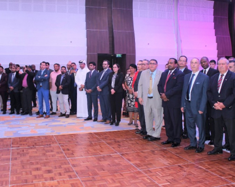 Nepal's Constitution Day marked in Doha