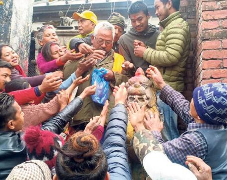 Bhimsen idol 'perspires', Prez to send Puja materials for atonement worship