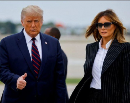 US President Donald Trump, his wife test positive for COVID-19