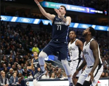 Leonard outduels Doncic, Clippers top Mavs