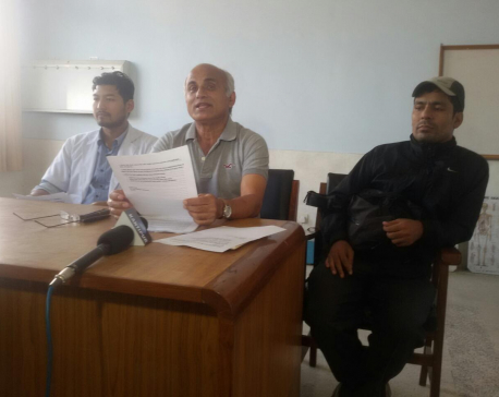 Dr KC launches 9th hunger strike
