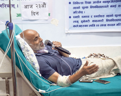 Dr KC puts off fast on 23rd day upon cabinet decision to meet demands