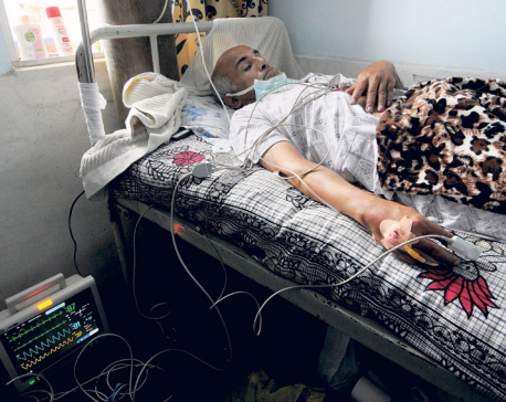 Dr KC's condition deteriorating