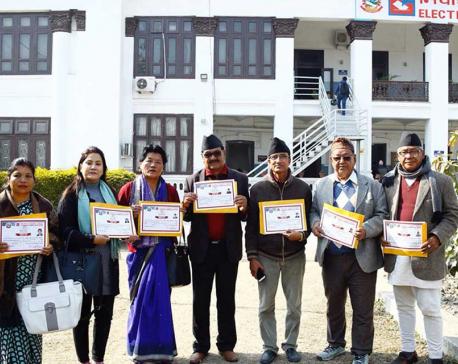 EC presents certificates to Provincial Assemblies PR candidates