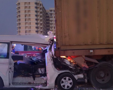Six Nepali nationals killed in road accident in UAE