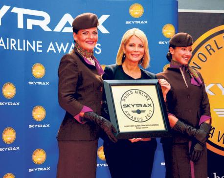 Etihad Airways wins three awards