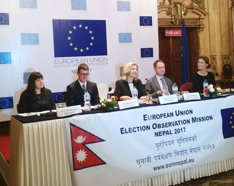 Election Commission lacked transparency, says EU EOM