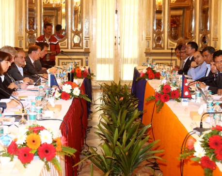 EU briefs Nepal on Connecting Europe and Asia Strategy during 11th Nepal-EU Joint Commission  in Kathmandu