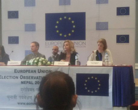 EU Election Observation Mission launched; 3.5m Euro to be incurred