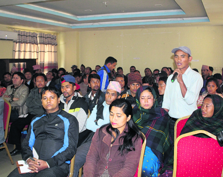 NRA deadline leaves landless quake victims worried