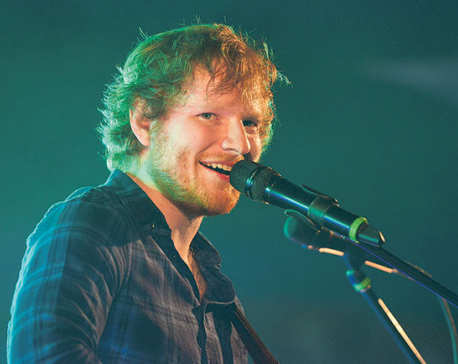 Ed Sheeran smashes UK chart records