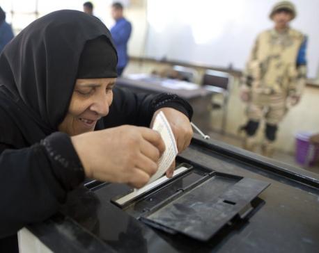 Egyptians vote, with President el-Sissi certain winner