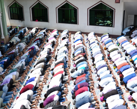 Prayer at mosque suspended until further notice