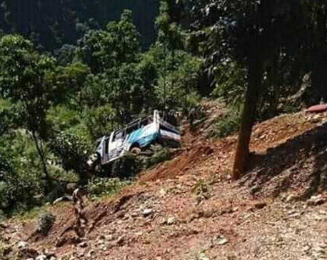 Update: Death toll in Sindhupalchowk bus crash climbs to 11, 30 injured
