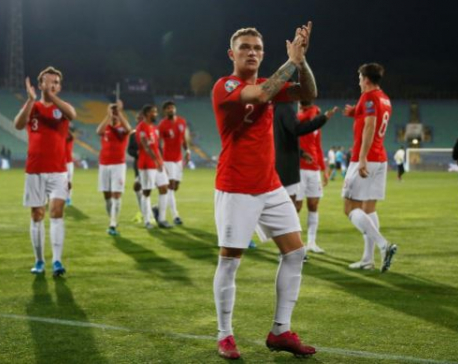 England thrash Bulgaria after game halted over racist abuse