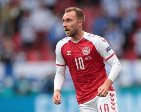 Denmark's Eriksen undergoing detailed examinations, says agent