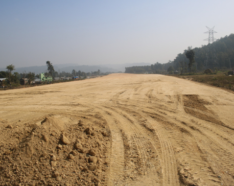 Kathmandu-Terai Fast Track project achieves only 11 percent progress (with photos)