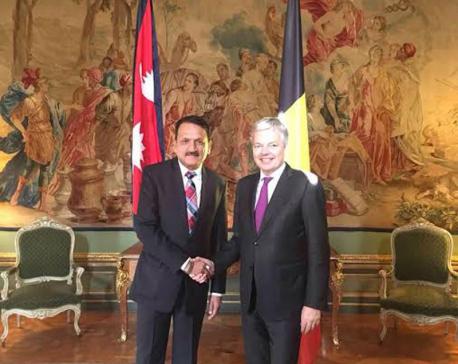 Nepal, Belgium agree to form bilateral mechanism, parliamentary friendship groups