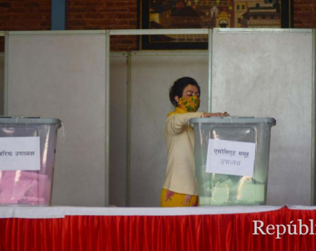 Voting to elect new executive committee including senior vice president of FNCCI underway (with photos)