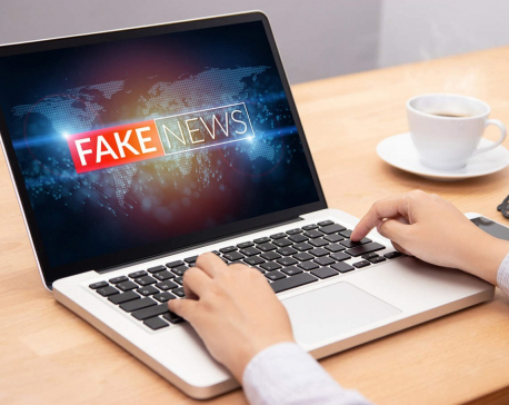 Beware of fake news