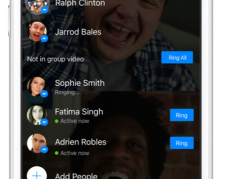 Messenger launches 6-screen group video chat with selfie masks