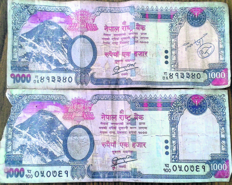 'Fake banknotes entering circulation from rural areas'