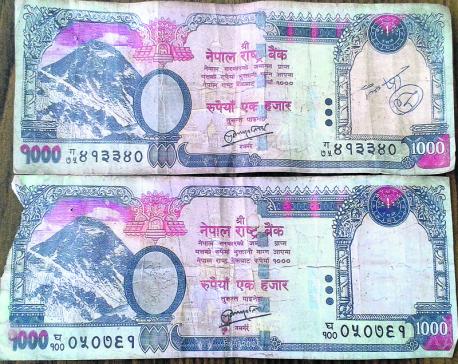 'Fake banknotes entering circulation from rural areas'