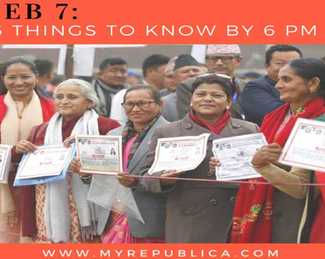FEB 7: 6 things to know by 6 PM today