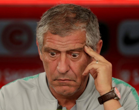 Portugal coach Santos still has doubts over starting lineup