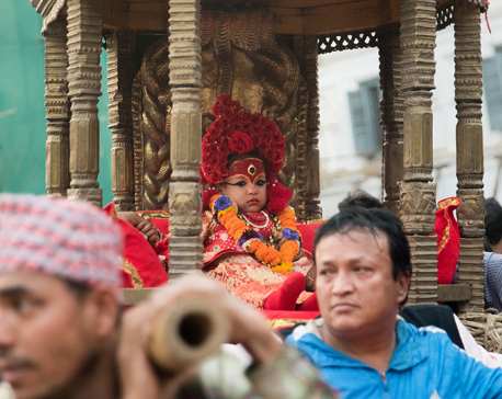 Third day of Seto Machhindranath Jatra (With photos)