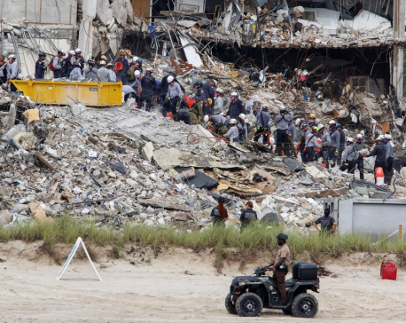 Death toll in Florida building collapse rises to 12 with 149 missing