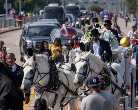 George Floyd hailed as 'cornerstone of a movement' at funeral; family calls for justice