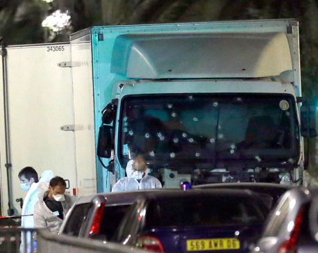 At least 80 killed as truck slams into revelers in Nice
