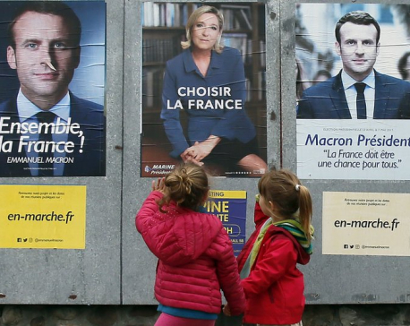 French campaign watchdog examines election-eve Macron leak