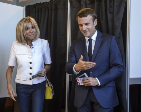 France's Macron faces test in parliamentary elections