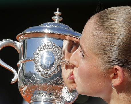 Unseeded, just 20, Ostapenko wins French Open for 1st title