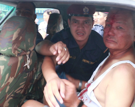 Retd. Major Gen. and ex-Maoist Center lawmaker Fudong attacked