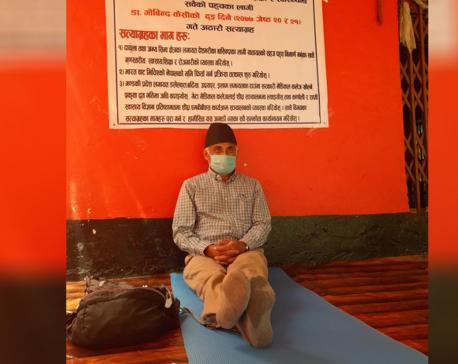 Dr KC starts 18th hunger strike