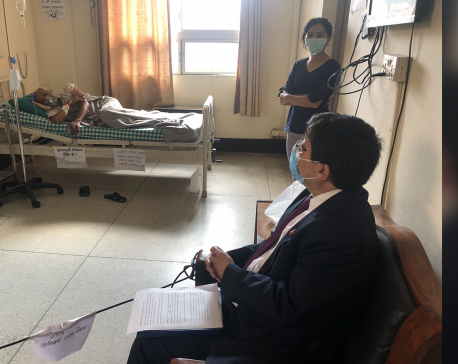 Govt team visits Dr Govinda KC