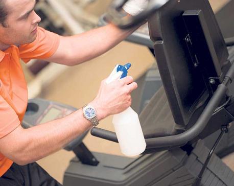 Workout hygiene