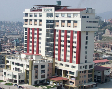 Grande Hospital laboratory staff tests positive for COVID-19; admitted to Patan Hospital