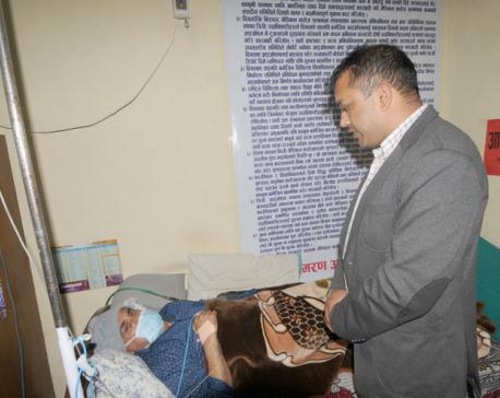 Gagan Thapa files motion at parliament to discuss Dr KC's demands