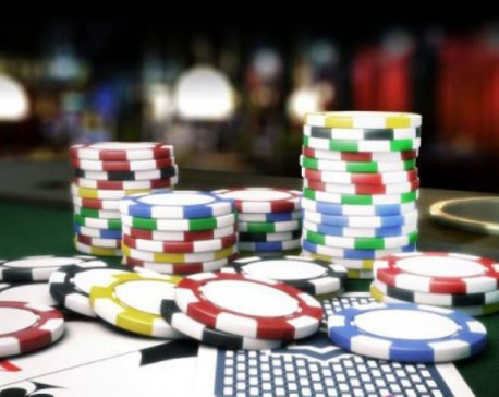 10 high-profile gamblers arrested with Rs 3 million in Nepalgunj